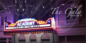 The Friends of the Academy invite you to The Gala: Light up the 'Burg