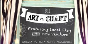 Art vs. Craft Fair